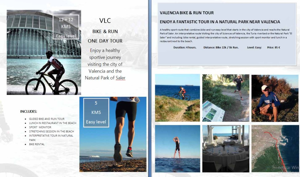 web bike & run